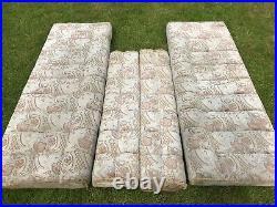 2 berth caravan cushions seats foam upholstery camper van / motor home / boat