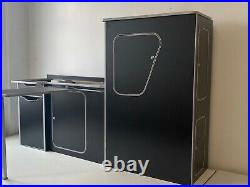 ASSEMBLED Camper Van Motorhome Furniture Kitchen Unit Vauxhall Vivaro Trafic SWB