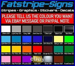 Citroen Relay L4 Exlwb Motorhome Graphics Stickers Decals Stripes Camper Van