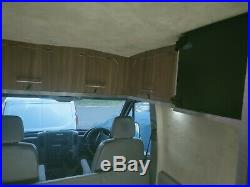 VW Crafter Camper Van Motorhome Racehome 58 Plate With Garage motocross MTB MX